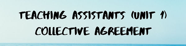 Teaching Assistants (Unit 1) Collective