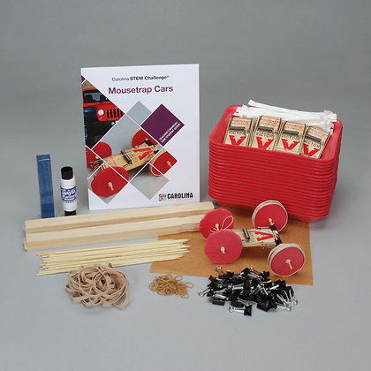 Carolina STEM Challenge®: Mousetrap Cars Kit