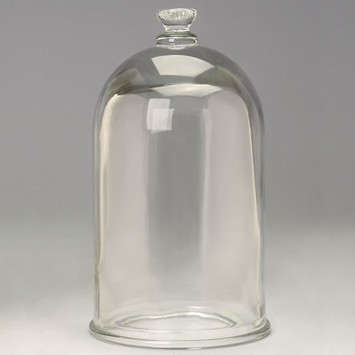 Bell Jar, Glass, Closed