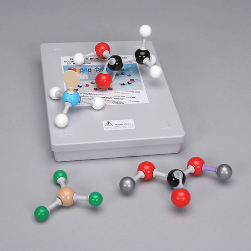Molymod® Organic/Inorganic Molecular Model Teacher Set