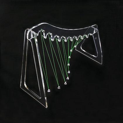 Acrylic Pendulum Wave Demonstrator