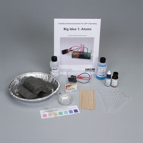 Carolina Chemonstrations® for AP® Chemistry: Big Idea 1—Atoms Kit