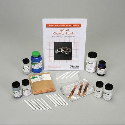 Carolina Investigations® for AP® Chemistry: Types of Chemical Bonds Kit