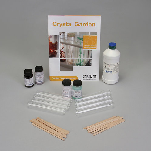 Carolina Chemonstrations®: Crystal Garden Kit