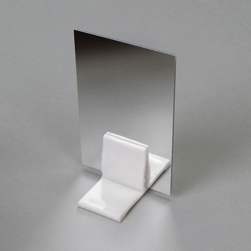 """Double-Sided Flexible Acrylic Mirror, 2 x 3"""", Pack of 15"""