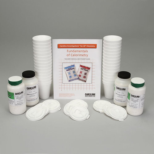 Carolina Investigations® for AP® Chemistry: Fundamentals of Calorimetry Kit