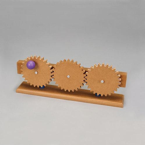 Simple Machines: Gear Train Model