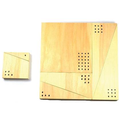 Garage Physics: Pythagorean Theorem Puzzle Kit