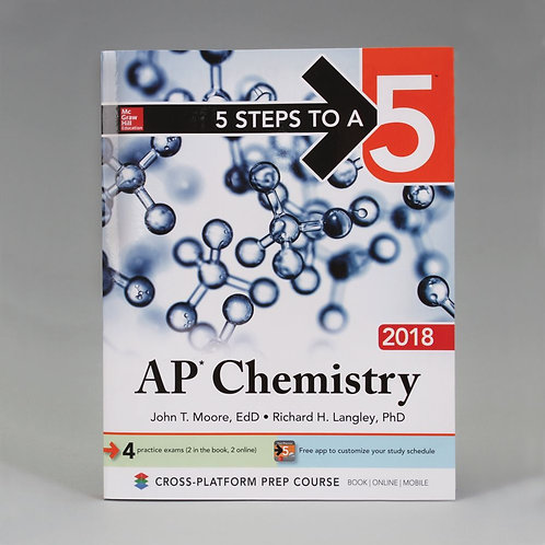 5 Steps to a 5: AP* Chemistry Book, 2019
