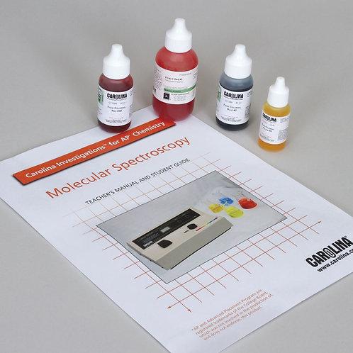 Carolina Investigations® for AP® Chemistry: Molecular Spectroscopy Kit