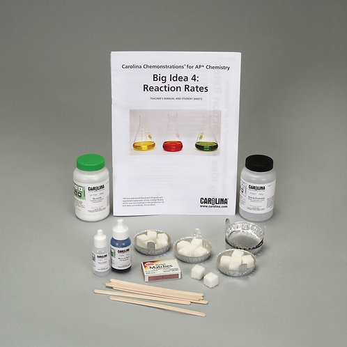 Carolina Chemonstrations® for AP® Chemistry: Big Idea 4 - Reaction Rates Kit