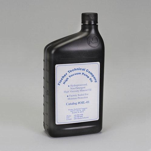 Vacuum Pump Oil, 1-qt Bottle