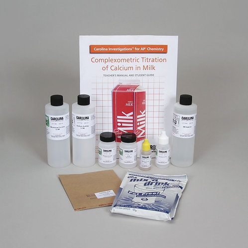 Carolina Investigations® for AP® Chemistry: Complexometric Titration of Calcium