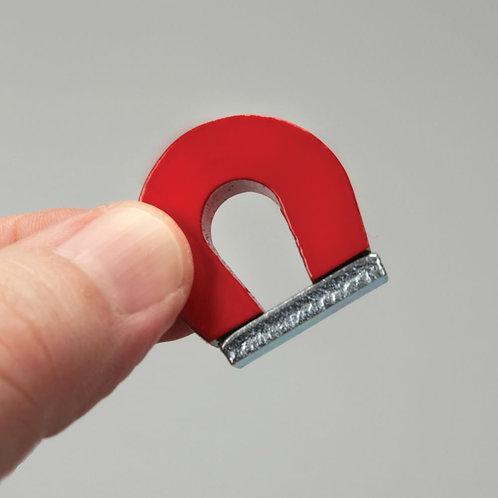 Alnico Horseshoe Magnet, 1 x 1 1/8 in