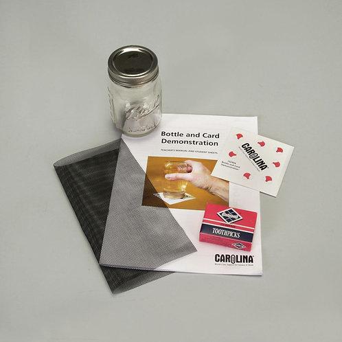 Bottle and Card Demonstration Kit