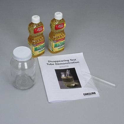Disappearing Test Tube Demonstration Kit
