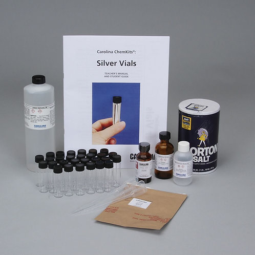 Carolina ChemKits®: Silver Vials