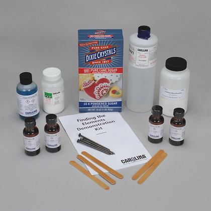 Finding the Elements Demo Chemistry Kit