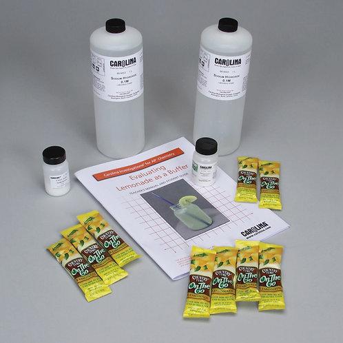 Carolina Investigations® for AP® Chemistry: Evaluating Lemonade as a Buffer Kit
