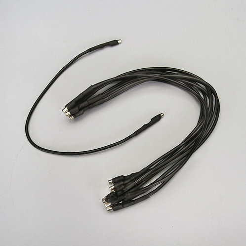 """Black Magnetic Leads, 11-3/4"""", Pack of 10"""