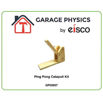 Garage Physics: Ping-Pong Catapult Kit