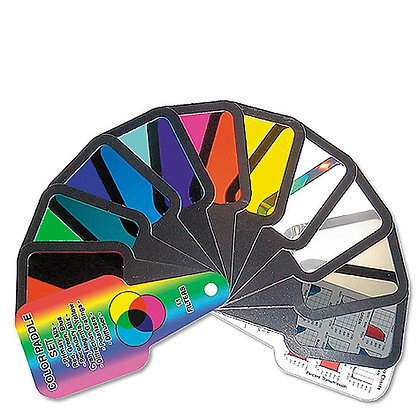 Color Paddle Set of 11 Filters