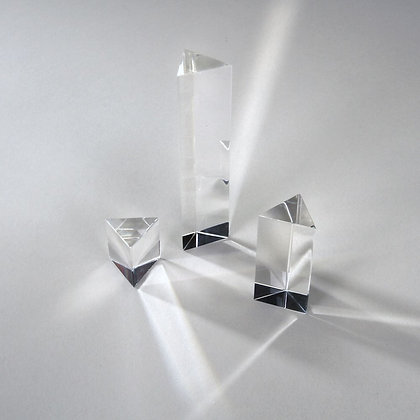 Equilateral Acrylic Prism Set