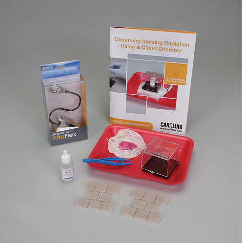 Carolina Chemonstrations®: Observing Ionizing Radiation Using Cloud Chamber Kit