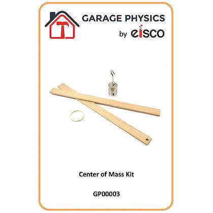 Garage Physics: Center of Mass Kit