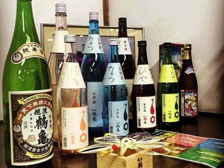 越後鶴亀事務所の商品ダミー瓶達