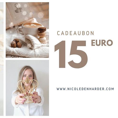 Giftcard 15 euro