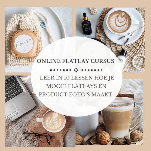 Online Flatlay Fotografie Cursus Instagram