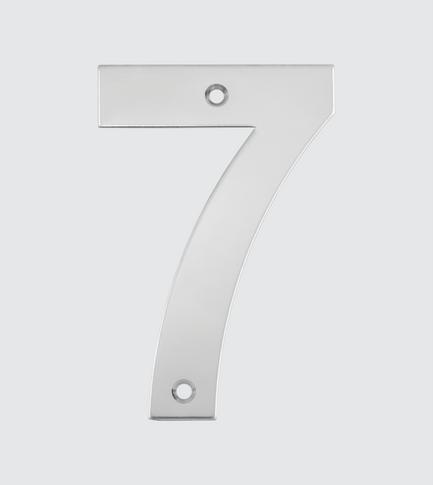 N° 7 com Furo