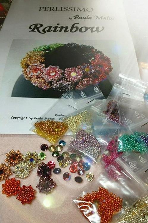 Kit Rainbow Armband