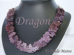 Dragon Lila by Paula Matos