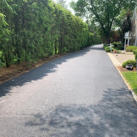 Common road paving finished.
