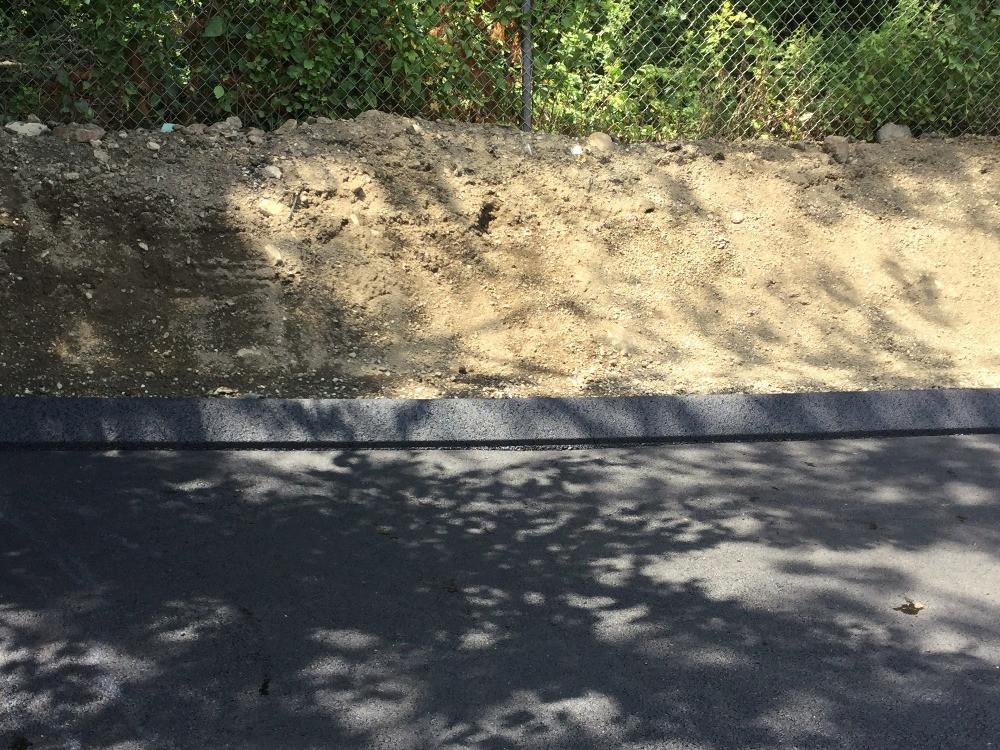 Asphalt Curbing Detail