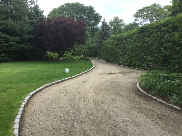 Sound Beach Common Road Ready to pave