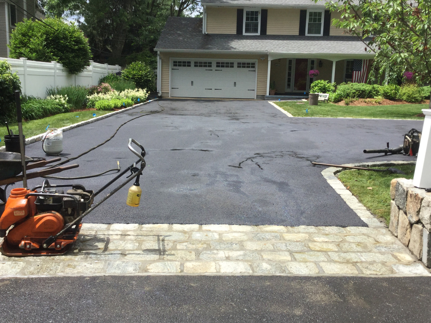 Driveway Finished. Another Project in So