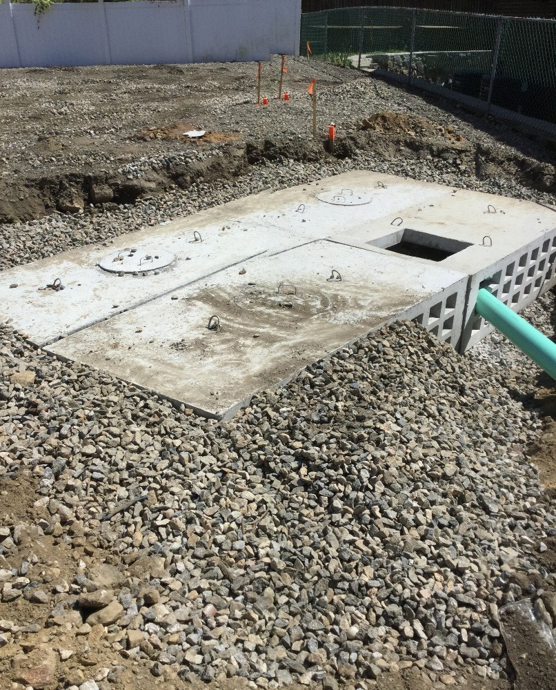 Installation process for a parking Lot