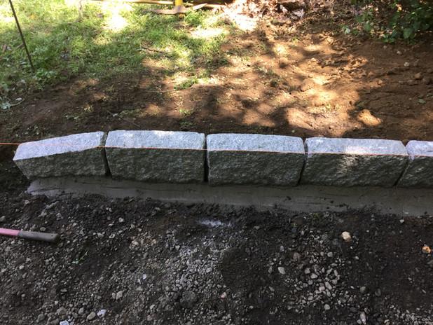 Granite Installation process.