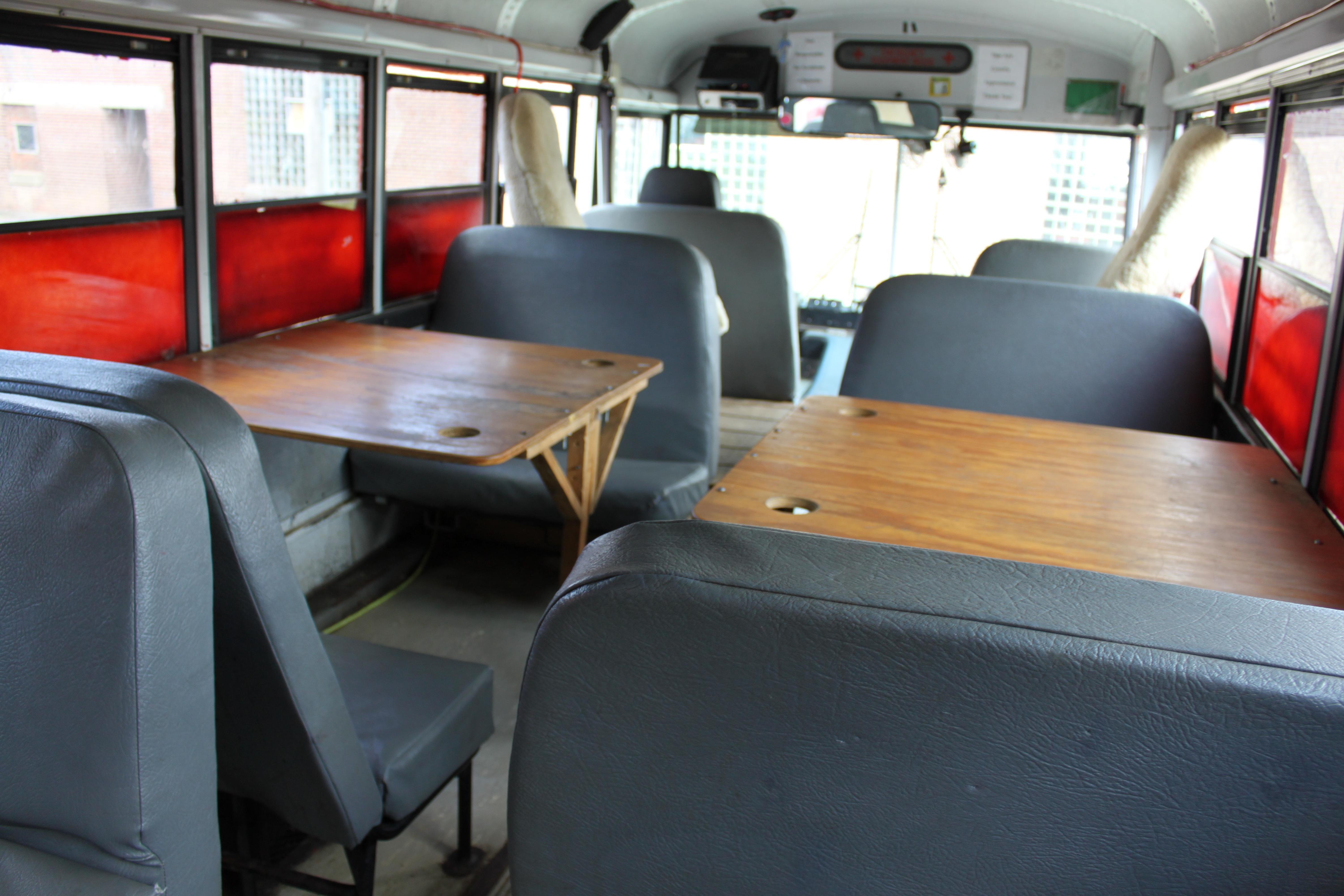 30-passenger bus