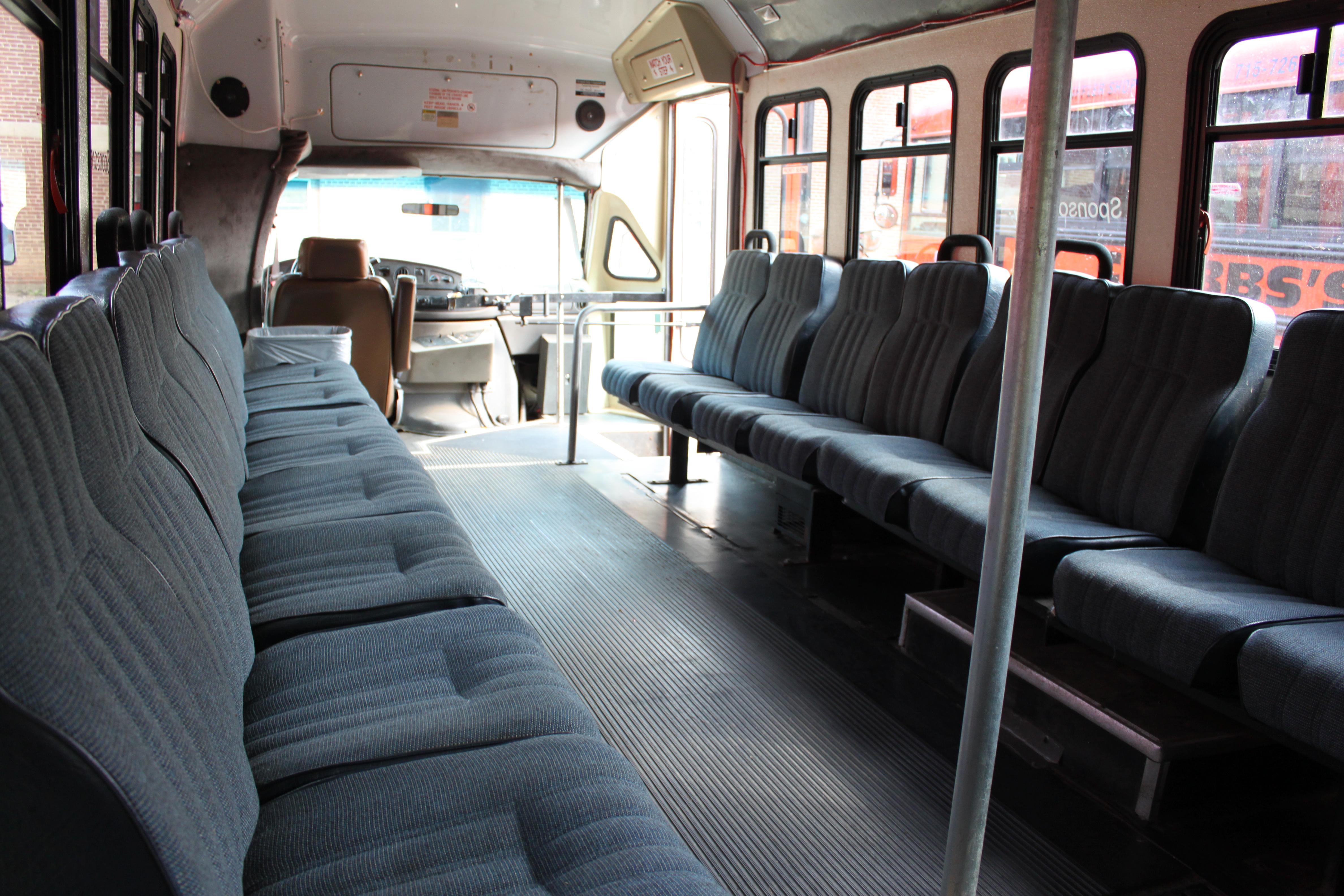 18-passenger bus
