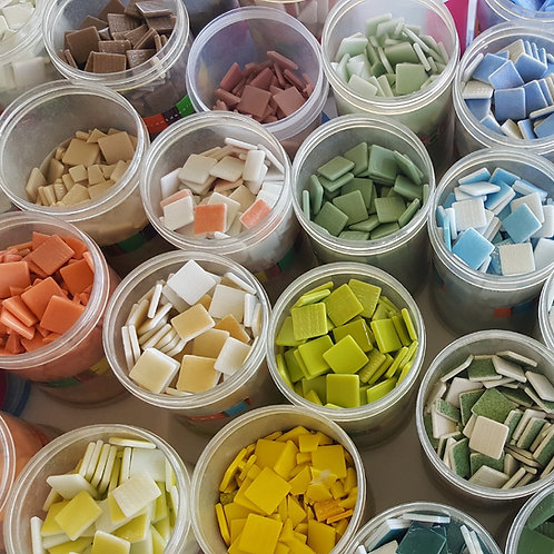 1 lb Mix & Match Mosaic Tiles