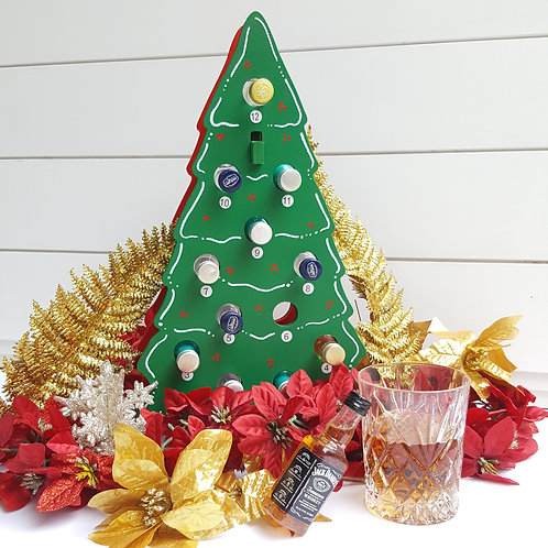 Christmas Tree Mini Liquor / Wine Bottle Holder