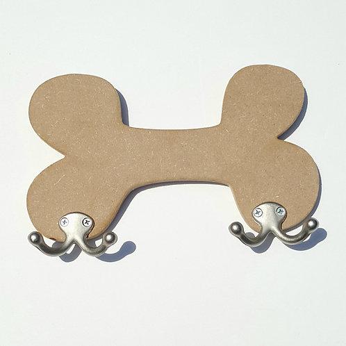Bone Leash Holder Cut Out DIY Kit
