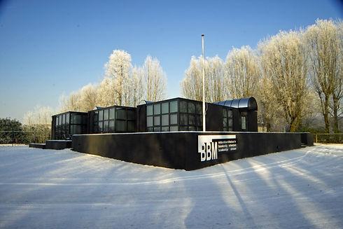 Exterieur kantoor Elftweg na verbouwing.