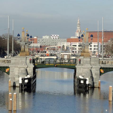 Brug Hoge Sluis, Amsterdam
