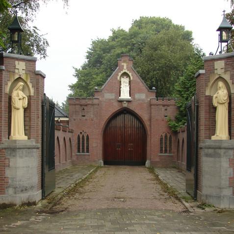 Poortgebouw Abdij O.L.V. Koningsoord