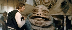 Jabba coupé au montage